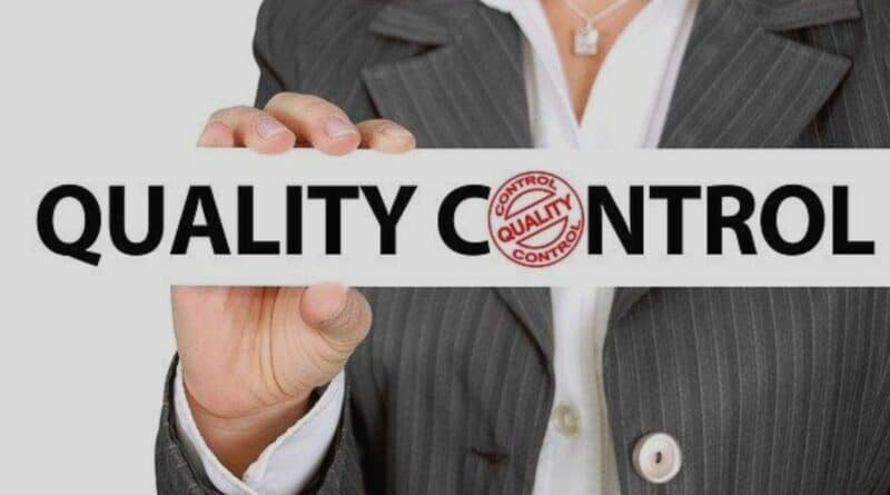 nspection and quality control