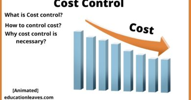 cost control- meaning