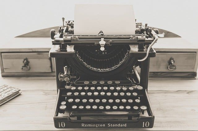 typewriter-example of product life cycle